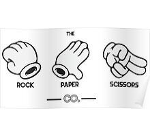 The Rock, Paper, Scissors Co. Poster