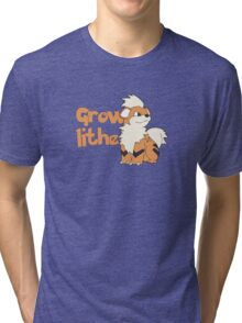 Growlithe  Tri-blend T-Shirt