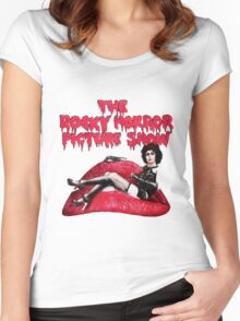 The rocky horror picture show Women's Fitted Scoop T-Shirt