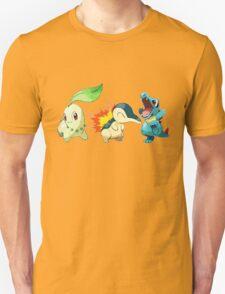 pokemon starter 1 Unisex T-Shirt