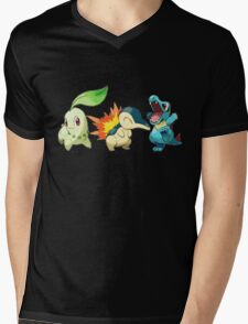 pokemon starter 1 Mens V-Neck T-Shirt