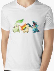 pokemon starter 1 Mens V-Neck T-Shirt