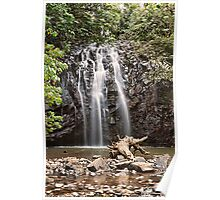 Waterfall Lace - Elinjaa Falls, Far North Queensland Poster