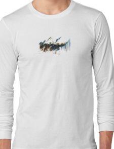 Barn in Fårö, Gotland, iPhone case. Long Sleeve T-Shirt
