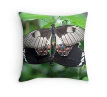 Loving Butterflies Throw Pillow