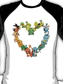pokemon starter 2 T-Shirt