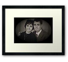Mum and Dad Framed Print