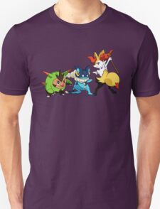 pokemon starter 4 Unisex T-Shirt