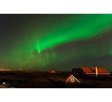 Aurora over Straumsvík Photographic Print
