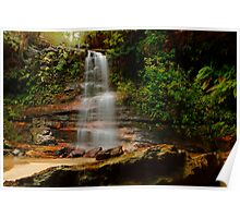 Federal Falls, New South Wales. Poster