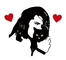 Danzig Loves Kittens Photographic Print
