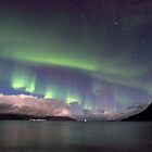 Aurora Borealis & clouds I by Frank Olsen