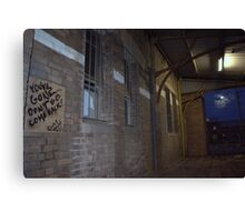 Dave 4 Johnny 4 Evs Canvas Print