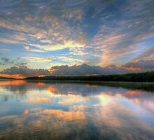 Morning Glory - Narrabeen Lakes - The HDR Experience by Philip Johnson