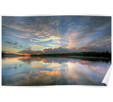 Morning Glory - Narrabeen Lakes - The HDR Experience Poster