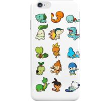 pokemon cute iPhone Case/Skin