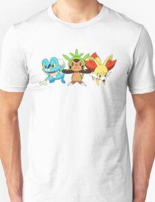 pokemon starter 7 Unisex T-Shirt
