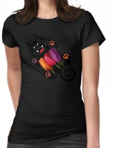 KITTEN 7/10 Womens Fitted T-Shirt