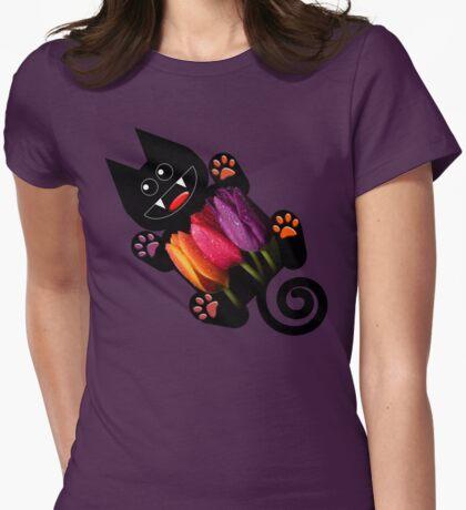 KITTEN 7/10 Womens Fitted T-Shirt