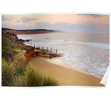 Anglesea Coastline Poster