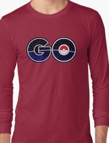 pokemon go logo Long Sleeve T-Shirt