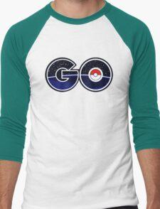 pokemon go logo Men's Baseball ¾ T-Shirt