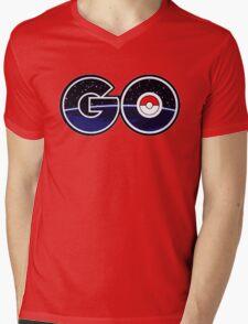 pokemon go logo Mens V-Neck T-Shirt