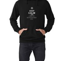 Keep Calm and CARRY ON MY WAYWARD SON Lightweight Hoodie