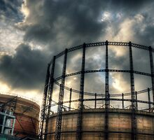 Haggerston Gas Works by dhdpic