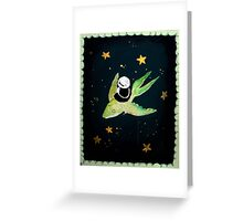 flying fish Greeting Card