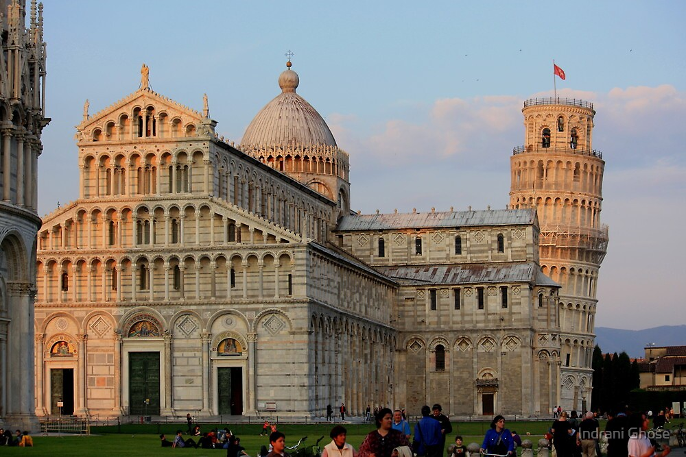 Leaning Tower of Pisa, Italy by Indrani Ghose