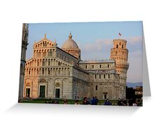 Leaning Tower of Pisa, Italy Greeting Card