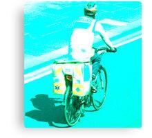 Dr. Bike Canvas Print