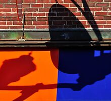 Abstract, Main St., Ellsworth, Maine by fauselr