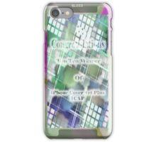 Top Ten Winner Badge iPhone Case/Skin