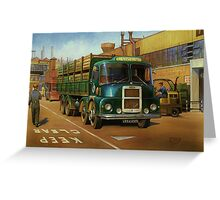 Lucas Scammell Routeman I Greeting Card