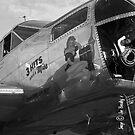 World War II nose art by © Joe  Beasley IPA