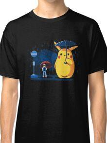 pokemon totoro scene Classic T-Shirt