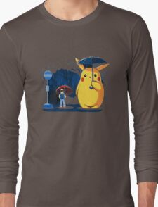 pokemon totoro scene Long Sleeve T-Shirt