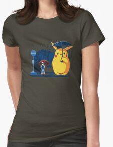 pokemon totoro scene Womens Fitted T-Shirt