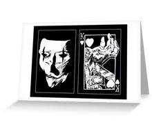 Playing Card: Suicide King Greeting Card