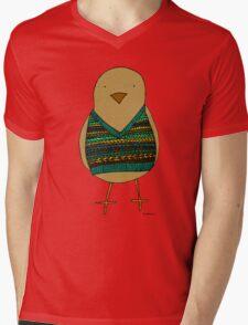 Knitwear for birds Mens V-Neck T-Shirt