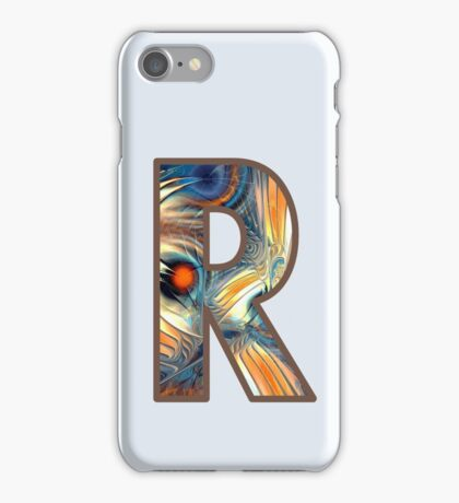 Fractal – Alphabet – R is for Randomness iPhone Case/Skin