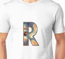 Fractal – Alphabet – R is for Randomness Unisex T-Shirt