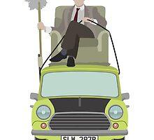 Mr Bean by Twagger