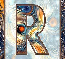 Fractal – Alphabet – R is for Randomness by Anastasiya Malakhova