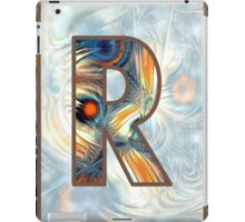 Fractal – Alphabet – R is for Randomness iPad Case/Skin