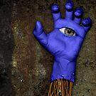Blue Hand by JP Grafx