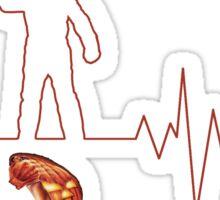 Heartbeat Michael Myers Sticker