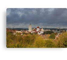Vilnius. Old town. My city. Canvas Print